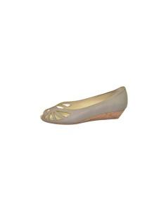zapato tacón bajo_Shoe Biz Copenhagen_ negro y beige
