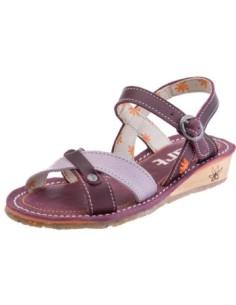 ARTKIDS sandalia modelo DANCE A302 para las niñas, en brown y violet