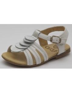 sandalias cirqus mod 141034, elaboradas en piel de fabricación española, ideales para nuestros niños en tallas desde 23 a 28