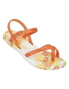 IPANEMA FASHION SAND  81204  para niñas, en naranja y lila