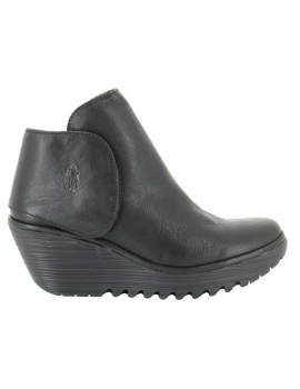 YOGI Bota - Fly London - negro, roja