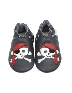 zapatos ROBEEZ PIRATE, perfectos para los recién nacidos, bebés, pre-caminante y niños pequeños.