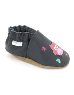 zapatos ROBEEZ HOOT, perfectos para los recién nacidos, bebés, pre-caminante y niños pequeños.
