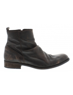 FLY LONDON bota WEX P142924, marrón,black