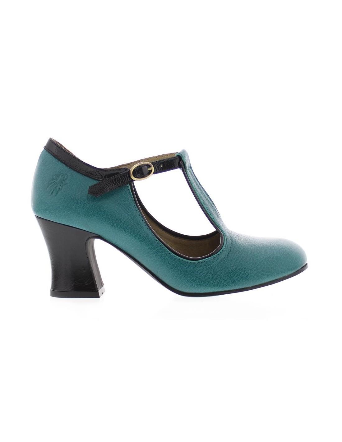 Zapatos Tacon Comodos Mujer