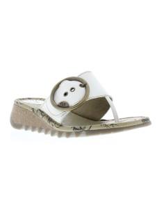 TRIM, sandalia de mujer de cuña FLY LONDON