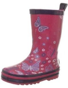 Botas de Agua mariposa de la marca Be Only, para los niños