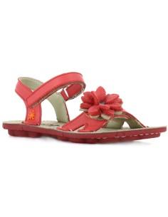 ARTKIDS sandalia modelo CLOUDY A266 para las niñas, en rosa