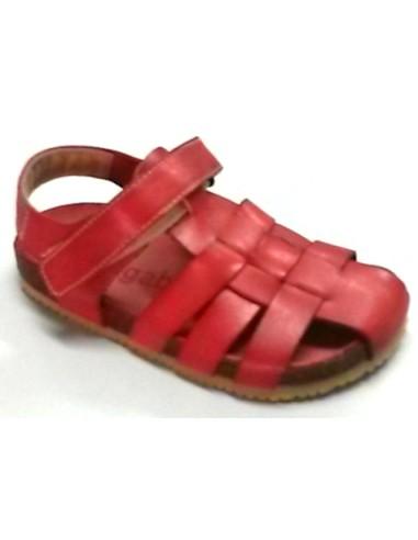 sandalias 13 Megabios 12-104, elaboradas en piel de fabricación española,