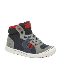 kickers bota ZIGUERS- gris, azul