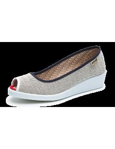 MAIANS, INES VANIA  , zapato urbano años 40, con cuña para las chicas