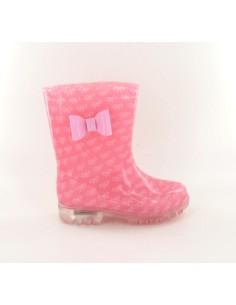 Botas de Agua DOLLY KIDS FLASH rose de la marca Be Only, para los niñas, con suela luminosa por 29€