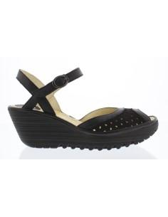 YUMO, zapato mujer de cuña FLY LONDON