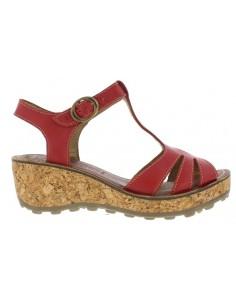 GOLD LOW, zapato mujer de plataforma  FLY LONDON