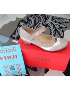 FIDJI 459000 zapato diseño vintaje  tacón bajo