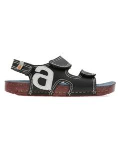 ARTKIDS sandalia modelo I PLAY A420 para los niñ@s, en negro,rojo y azul